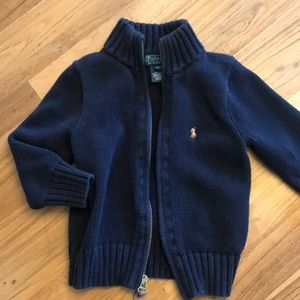 Other - Zip up Polo sweater 2T